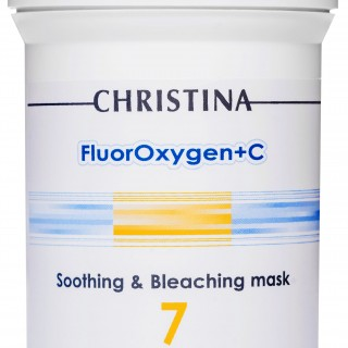 Отбеливающая маска (шаг 7) CHRISTINA FluorOxygen+C Soothing and Bleaching Mask 250 мл